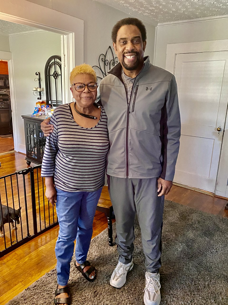 Spring 2021 Foster Parent Visits: Visiting Brenda Cope